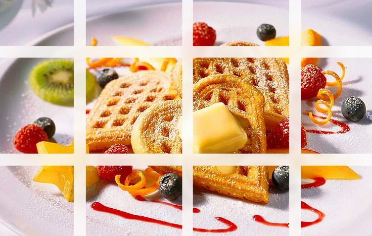 Origem do waffle