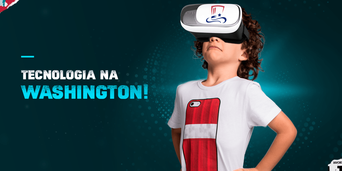 A Academia Washington utiliza como parte da sua metodologia de ensino a realidade aumentada e realidade virtual